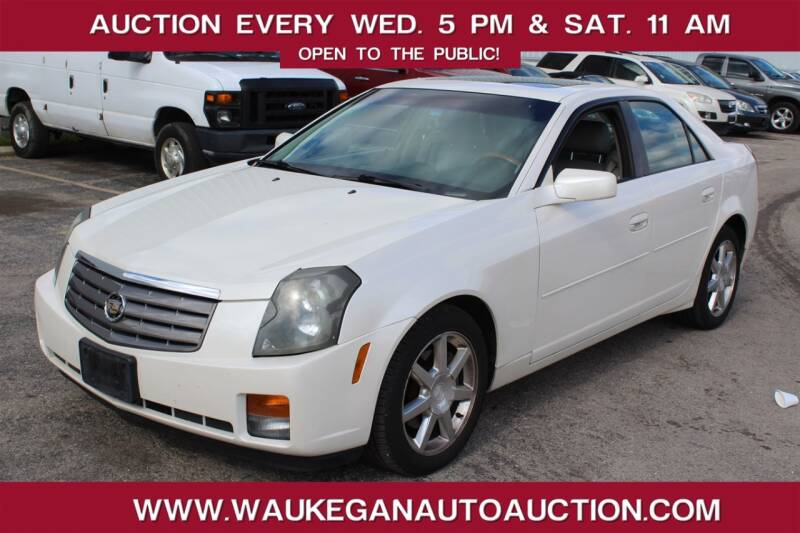 2005 Cadillac CTS for sale at Waukegan Auto Auction in Waukegan IL