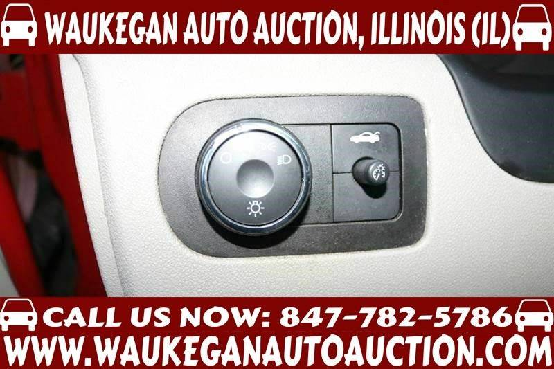 2008 Chevrolet Impala LT 4dr Sedan w/ roof rail curtain delete - Waukegan IL