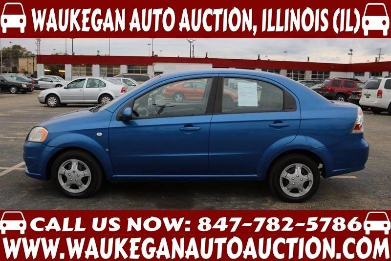 2007 Chevrolet Aveo LS 4dr Sedan - Waukegan IL