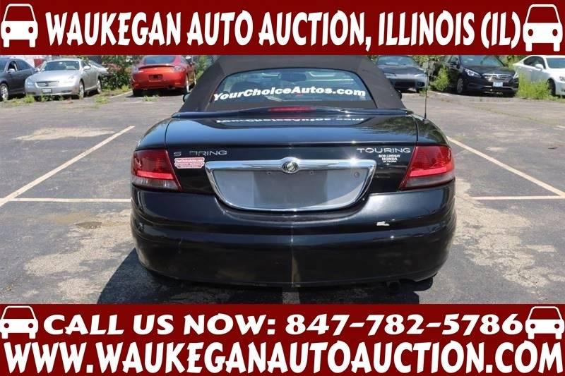2004 Chrysler Sebring Touring 2dr Convertible - Waukegan IL