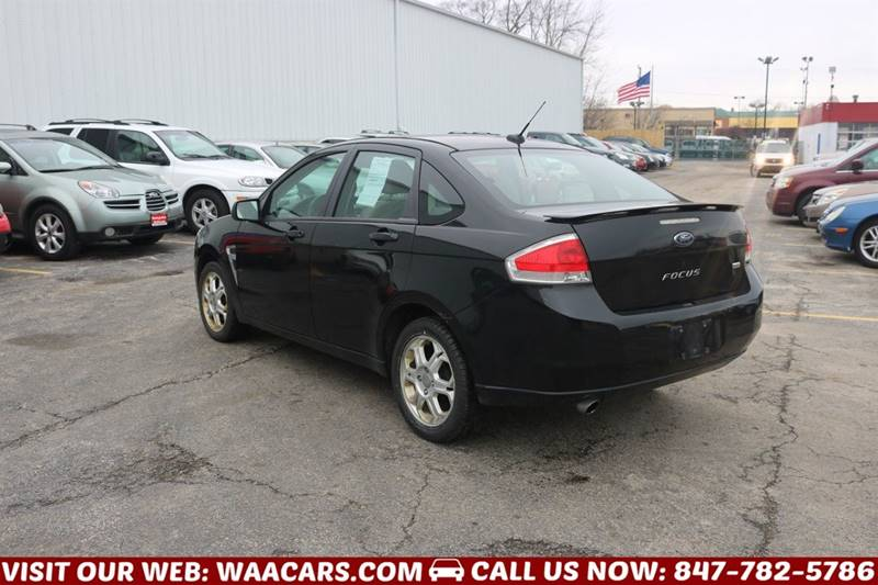 2008 Ford Focus SES 4dr Sedan - Waukegan IL