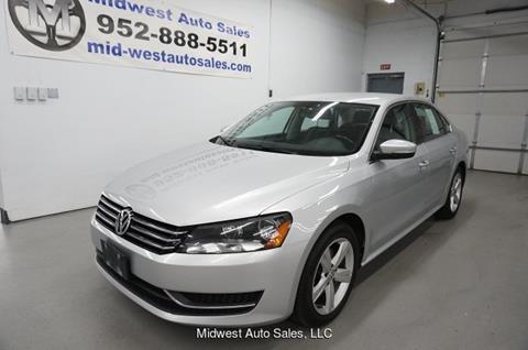 Eden Auto Sales >> 2013 Volkswagen Passat For Sale In Eden Prairie Mn