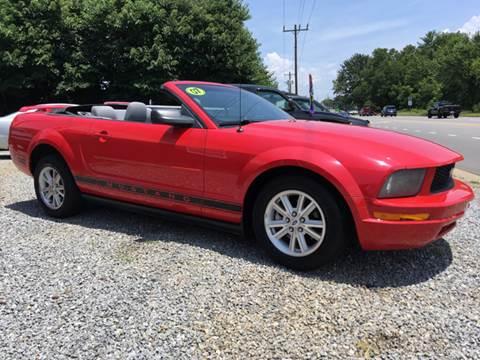 2006 Ford Mustang for sale at Moose Motors in Morganton NC