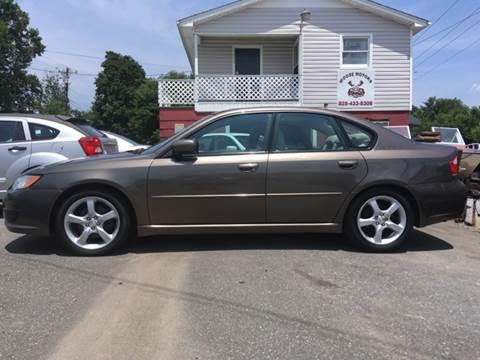 2009 Subaru Legacy for sale at Moose Motors in Morganton NC
