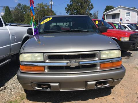 2003 Chevrolet S-10 for sale at Moose Motors in Morganton NC