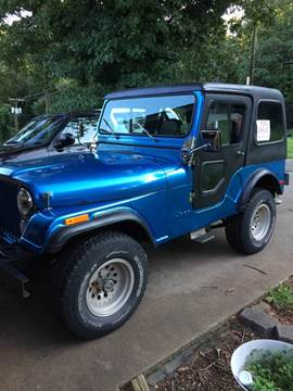 1978 Jeep CJ-5 for sale in Morganton, NC