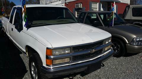 1998 Chevrolet C/K 1500 Series for sale at Moose Motors in Morganton NC