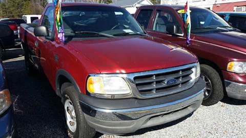 2002 Ford F-150 for sale at Moose Motors in Morganton NC
