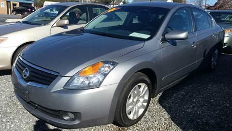 2009 Nissan Altima for sale at Moose Motors in Morganton NC