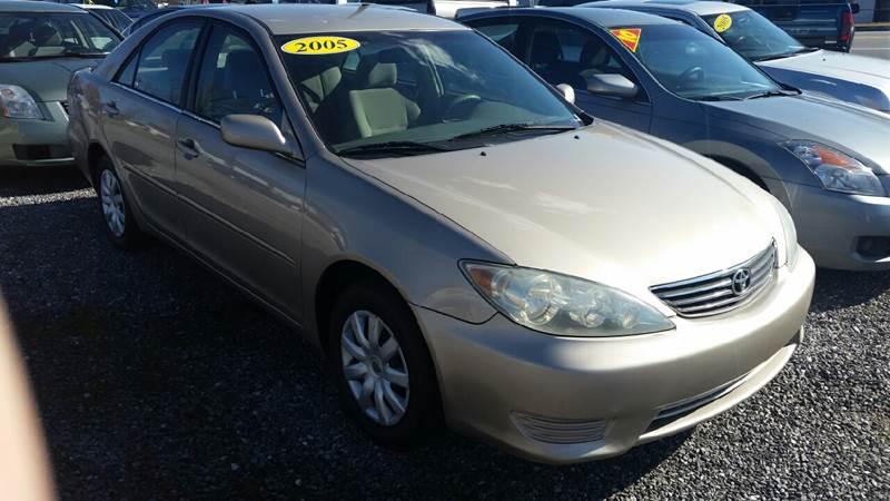2005 Toyota Camry for sale at Moose Motors in Morganton NC