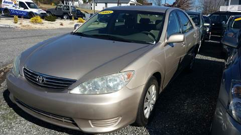 2005 Toyota Camry for sale at Moose Motors in Morganton NC