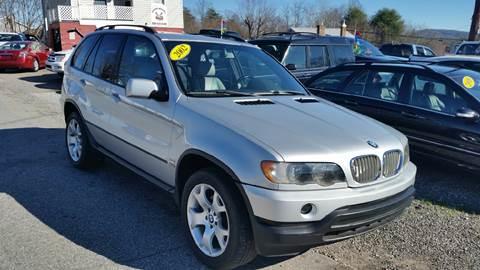 2001 BMW X5 for sale at Moose Motors in Morganton NC