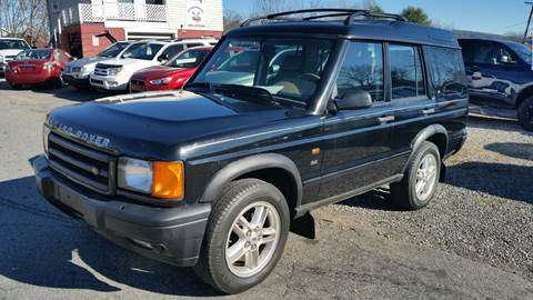 2002 Land Rover Discovery Series II for sale at Moose Motors in Morganton NC