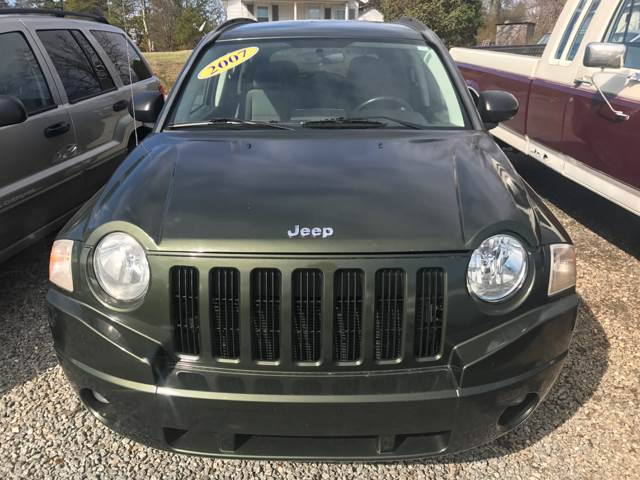 2007 Jeep Compass for sale at Moose Motors in Morganton NC