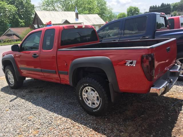 2004 Chevrolet Colorado for sale at Moose Motors in Morganton NC