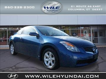2008 Nissan Altima for sale in Columbia, CT