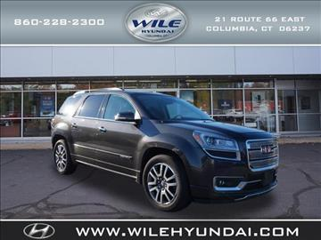 2013 GMC Acadia for sale in Columbia, CT