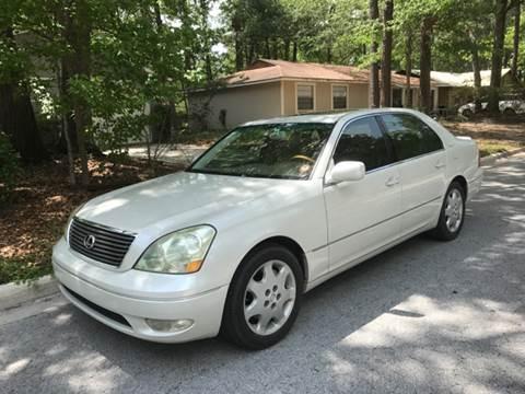 2001 Lexus LS 430 for sale at Park Place Motors LLC in Gainesville FL