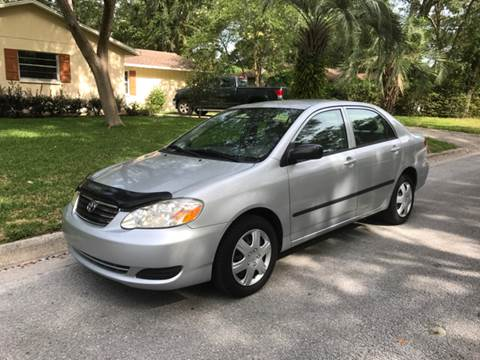 2007 Toyota Corolla for sale at Park Place Motors LLC in Gainesville FL