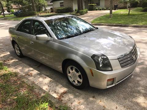 2004 Cadillac CTS for sale at Park Place Motors LLC in Gainesville FL