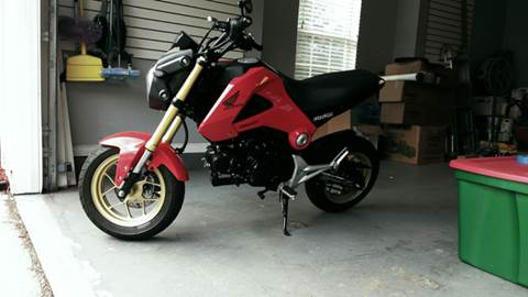2014 Honda Grom for sale at Park Place Motors LLC in Gainesville FL