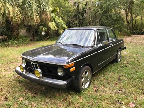 1975 BMW 2002 for sale at Park Place Motors LLC in Gainesville FL