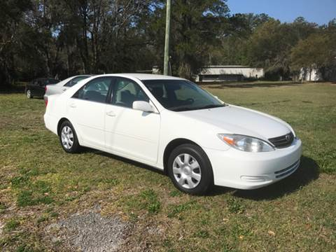 2002 Toyota Camry for sale at Park Place Motors LLC in Gainesville FL