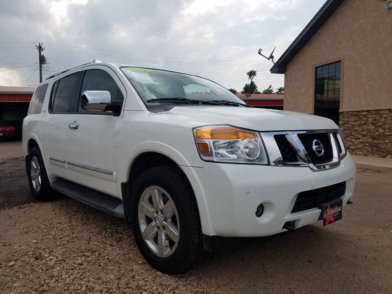 2012 Nissan Armada For Sale At Chihuahua Auto Sales In Perryton TX