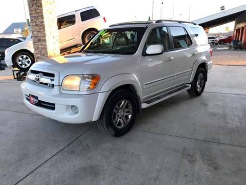 2006 Toyota Sequoia for sale at Chihuahua Auto Sales in Perryton TX