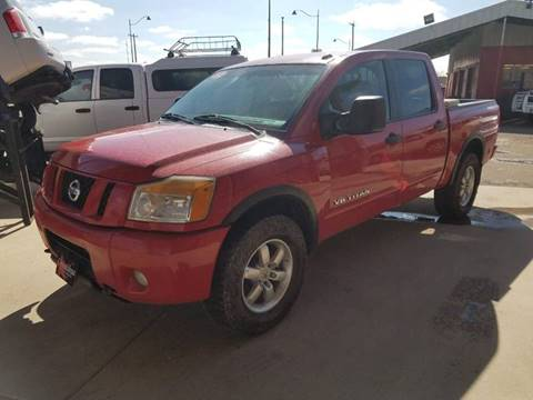 2012 Nissan Titan for sale at Chihuahua Auto Sales in Perryton TX