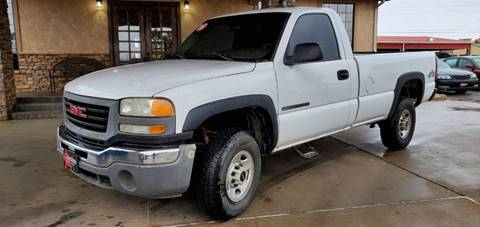 2005 GMC Sierra 2500HD for sale in Perryton, TX