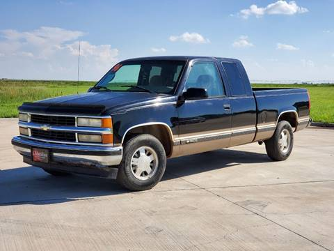 1996 Chevrolet C K 1500 Series For Sale In Perryton Tx