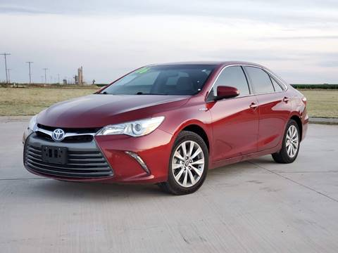 2016 Toyota Camry Hybrid for sale at Chihuahua Auto Sales in Perryton TX