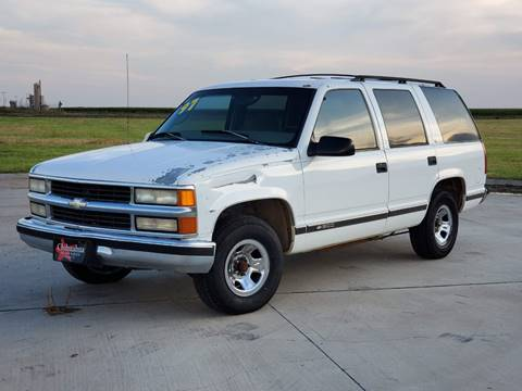 1997 Chevrolet Tahoe for sale in Perryton, TX