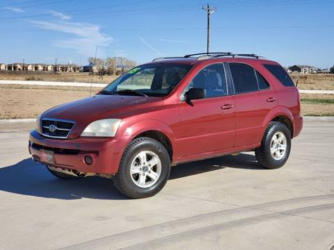 2005 Kia Sorento for sale at Chihuahua Auto Sales in Perryton TX