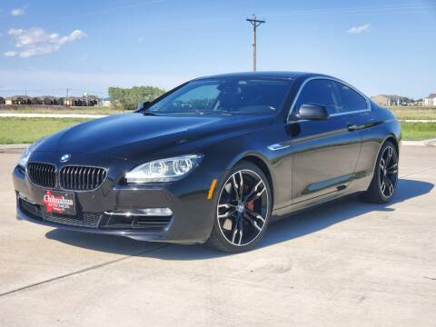 2012 BMW 6 Series for sale at Chihuahua Auto Sales in Perryton TX