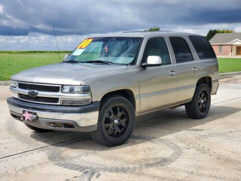 2000 Chevrolet Tahoe for sale at Chihuahua Auto Sales in Perryton TX