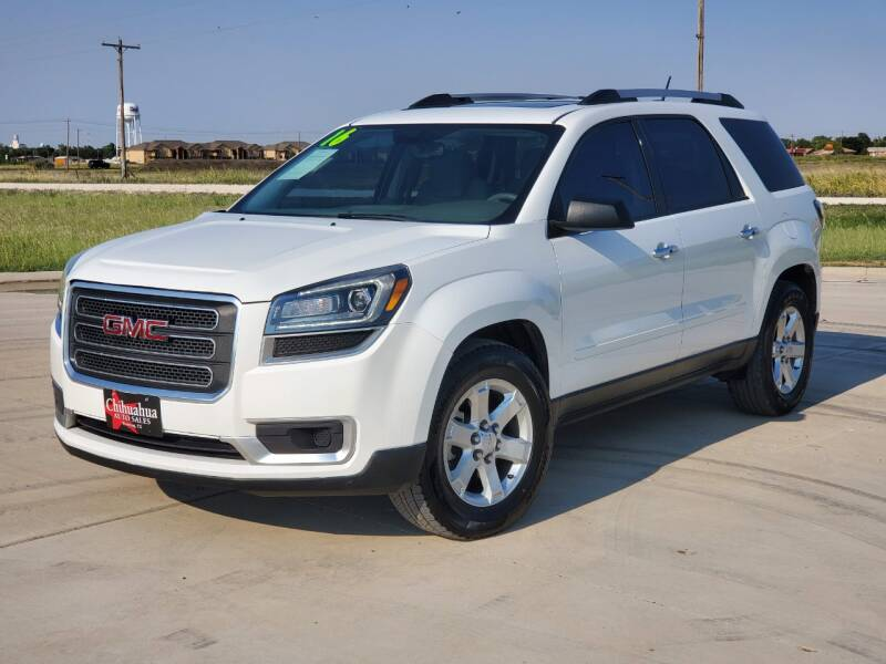 2016 GMC Acadia for sale at Chihuahua Auto Sales in Perryton TX