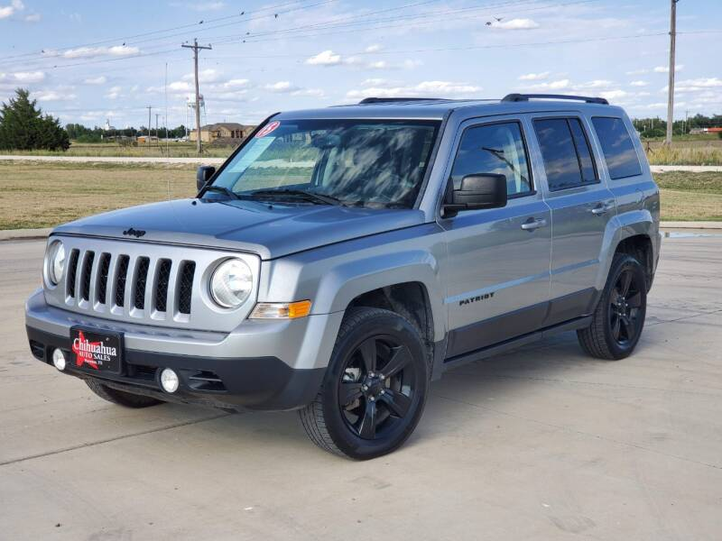 2015 Jeep Patriot for sale at Chihuahua Auto Sales in Perryton TX