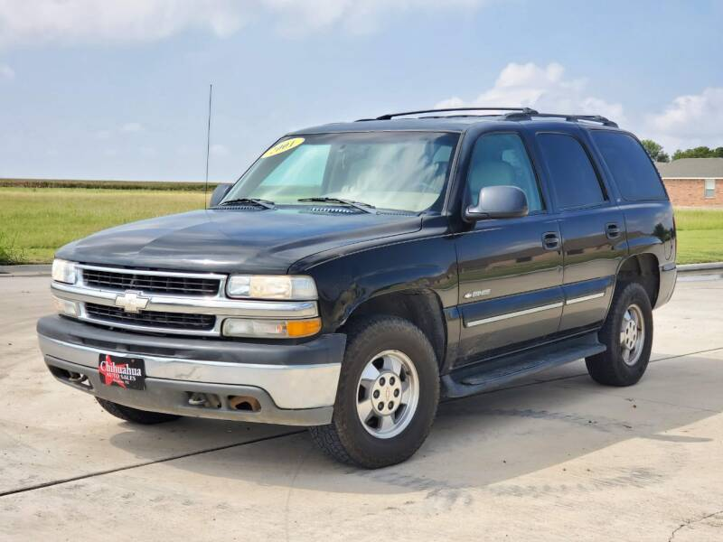 2001 Chevrolet Tahoe for sale at Chihuahua Auto Sales in Perryton TX