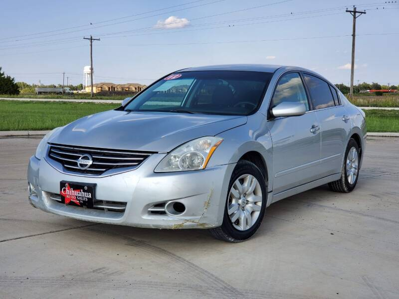 2012 Nissan Altima for sale at Chihuahua Auto Sales in Perryton TX