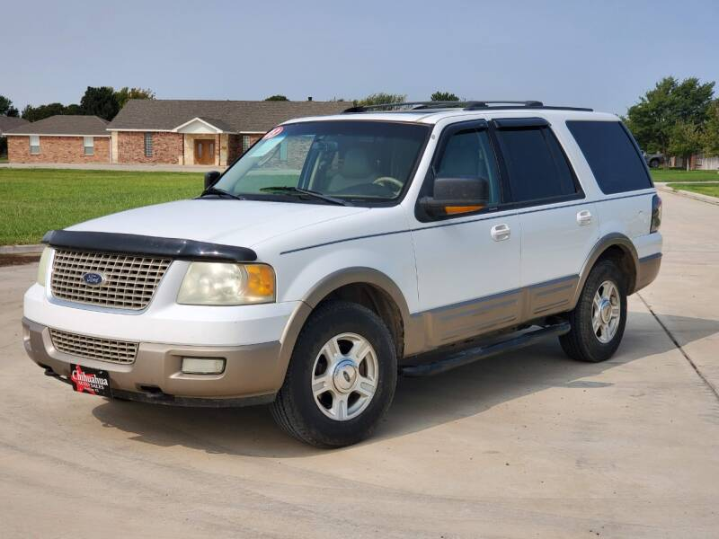 2003 Ford Expedition for sale at Chihuahua Auto Sales in Perryton TX