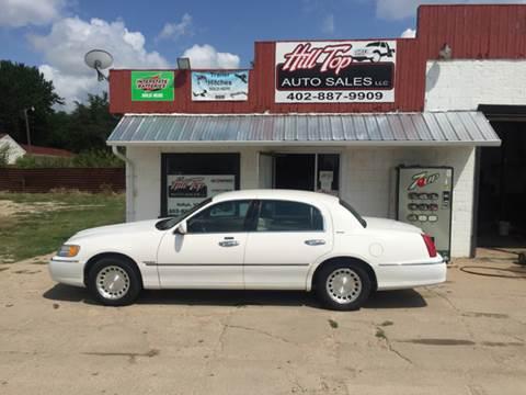2001 Lincoln Town Car for sale in Neligh, NE