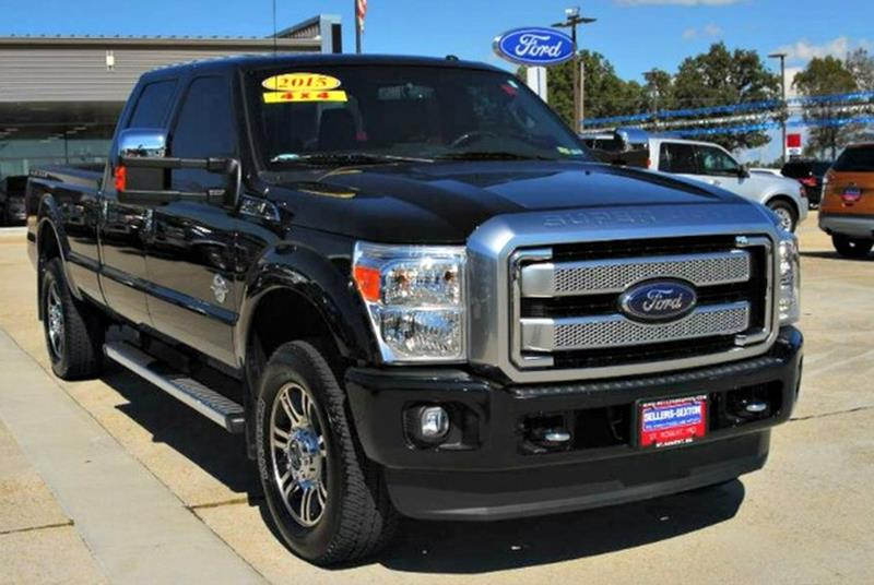 2015 Ford F 350 Super Duty Platinum