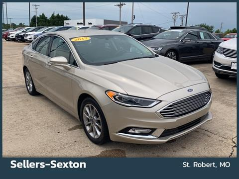 2017 Ford Fusion for sale in Saint Robert, MO