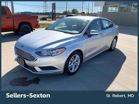 2018 Ford Fusion Hybrid for sale in Saint Robert, MO