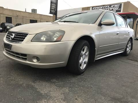 2006 Nissan Altima for sale at Frontline Motors in Salt Lake City UT
