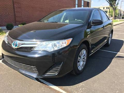 2012 Toyota Camry Hybrid for sale at Frontline Motors in Salt Lake City UT