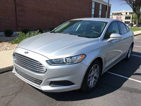2015 Ford Fusion for sale at Frontline Motors in Salt Lake City UT