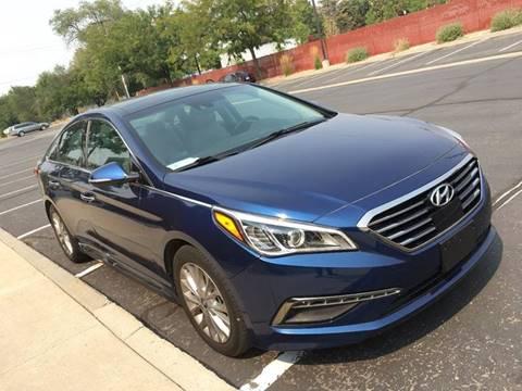 2015 Hyundai Sonata for sale at Frontline Motors in Salt Lake City UT